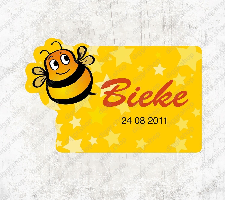 Geboortekaartje Bieke (1727)