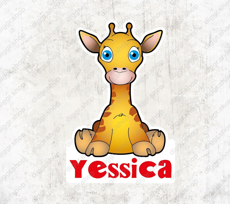 Geboortekaartje Giraffe (2128)