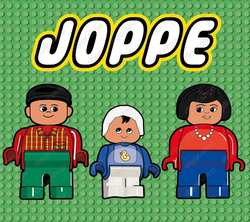 Geboortekaartje Lego familie (702)