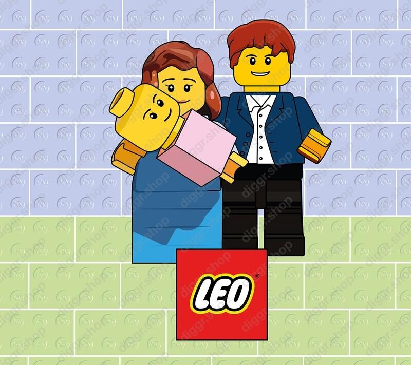 Geboortekaartje Lego 2 (705)