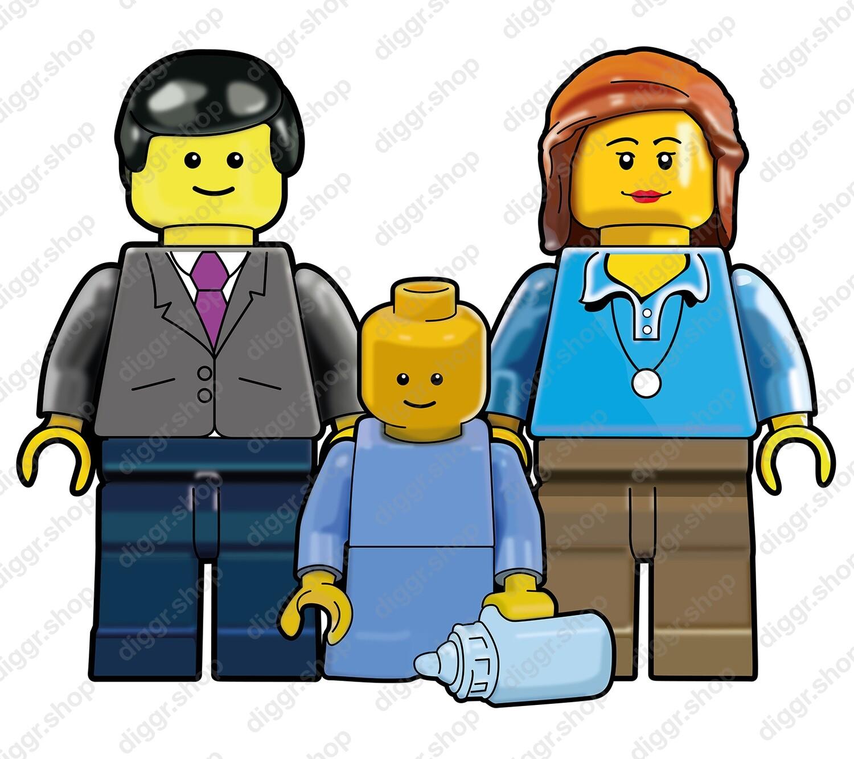 Geboortekaartje Lego 12 (713)