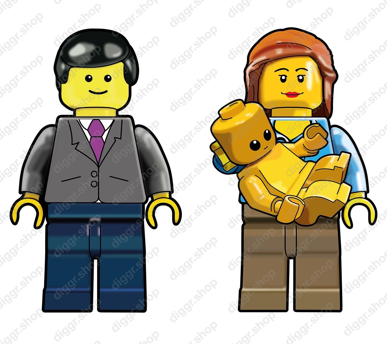 Geboortekaartje Lego 10 (711)