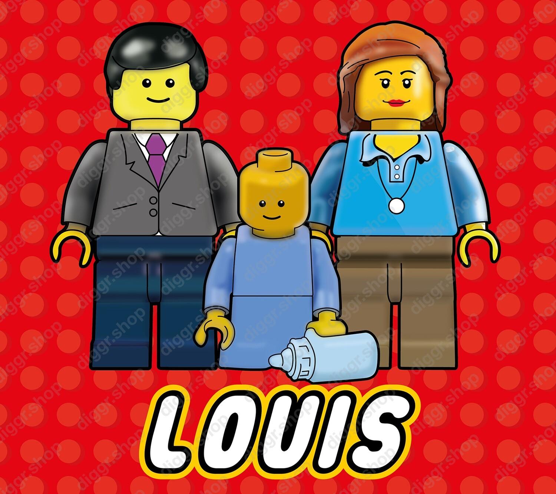 Geboortekaartje Lego 13 (714)