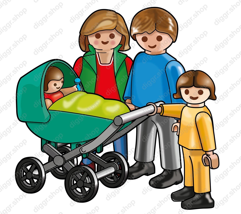 Geboortekaartje Playmobil Paulette (718)