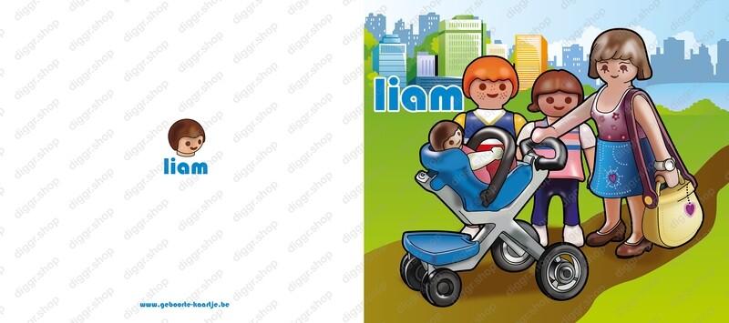 Geboortekaartje Playmobil 18 (738)