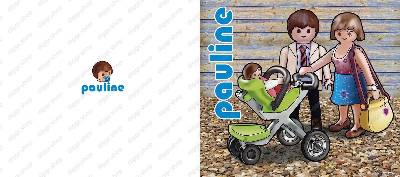 Geboortekaartje Playmobil 13 (732)