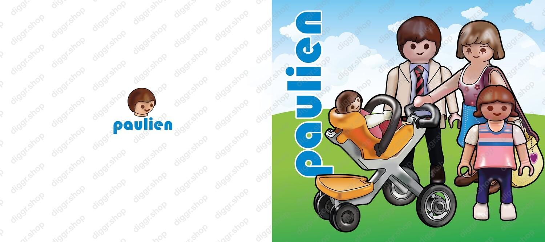 Geboortekaartje Playmobil 15 (735)