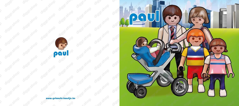 Geboortekaartje Playmobil 16 (736)