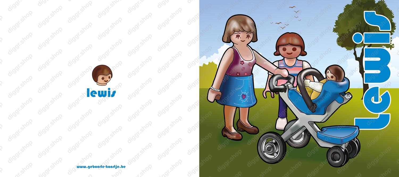 Geboortekaartje Playmobil 23 (743)