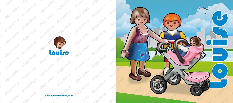 Geboortekaartje Playmobil 25 (745)