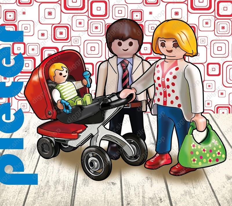 Geboortekaartje Playmobil (749)