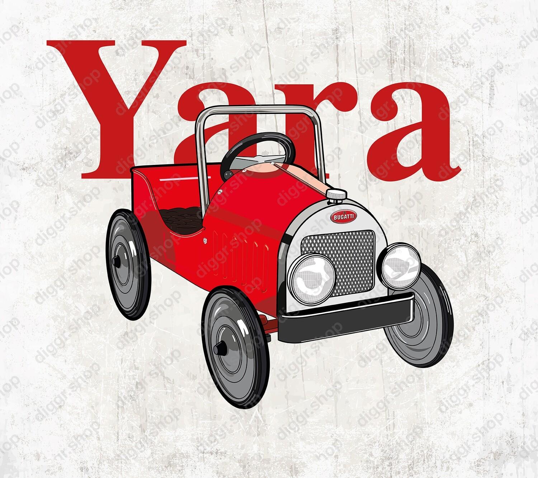 Geboortekaartje Trapauto 2 (19101)