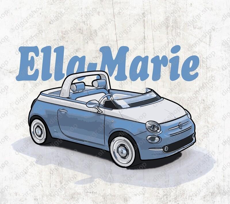 Geboortekaartje Fiat 500 IV (20004)