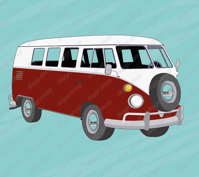 Geboortekaartje VW Camper (906)