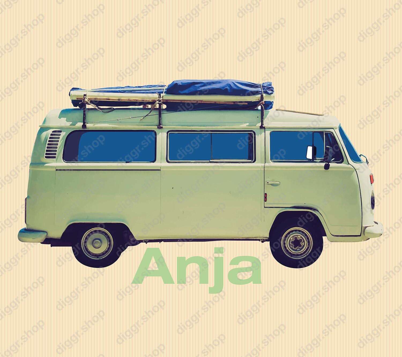 Geboortekaartje VW Camper 2 (907)