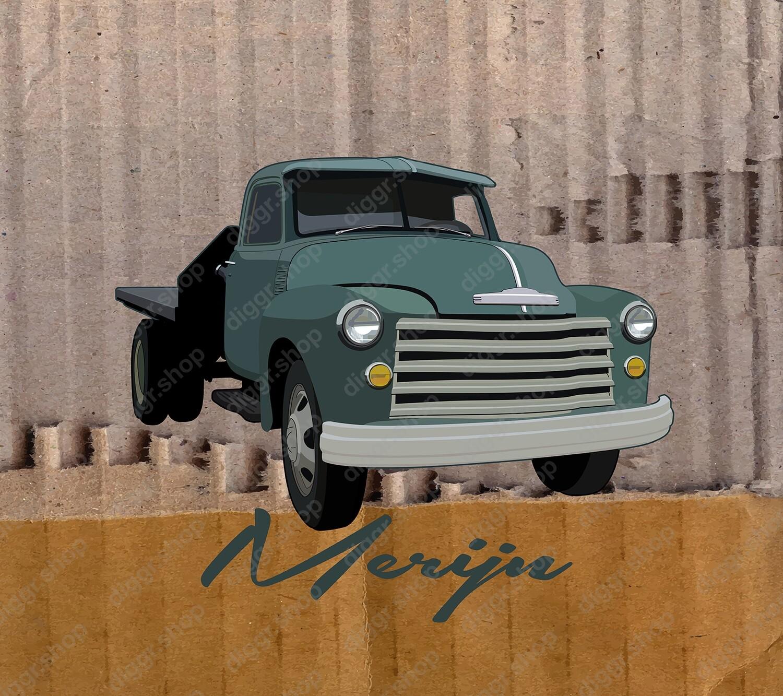 Geboortekaartje Chevy II (908)