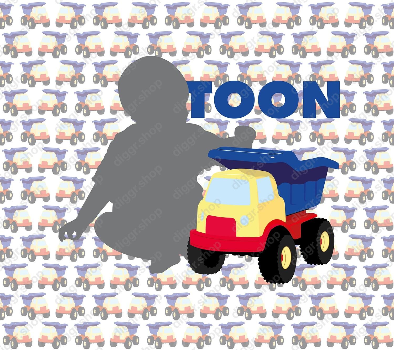 Geboortekaartje Baby met camionne (928)