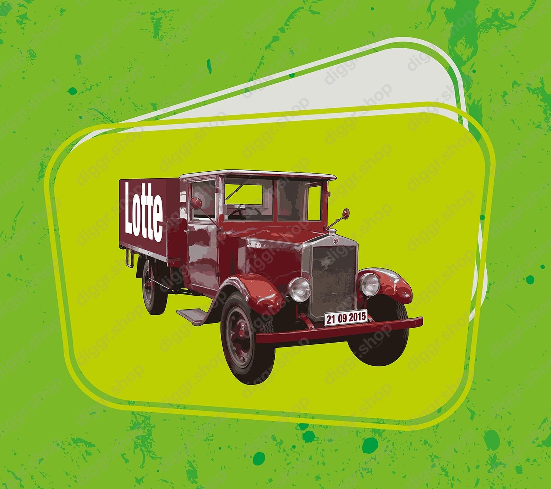 Geboortekaartje Scania vintage truck (961)