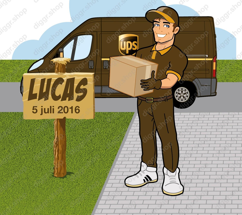 Geboortekaartje UPS (959)