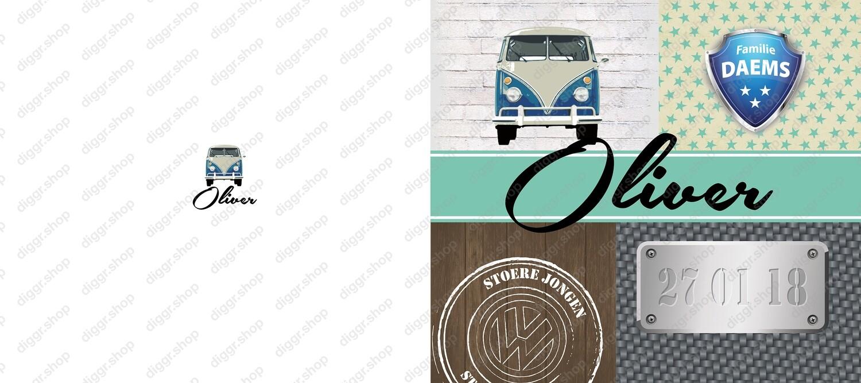 Geboortekaartje VW bus 4 (967)