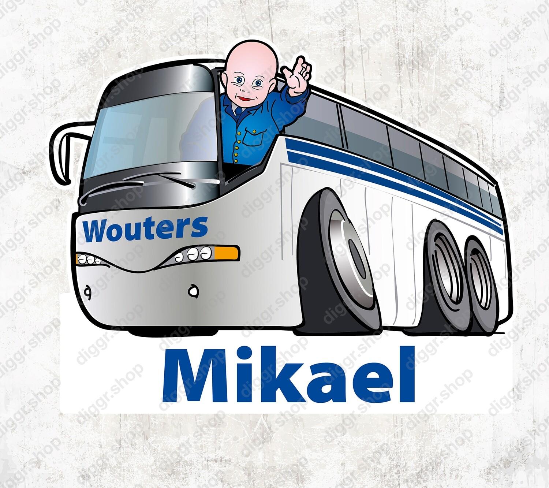 Geboortekaartje Autobus (977)