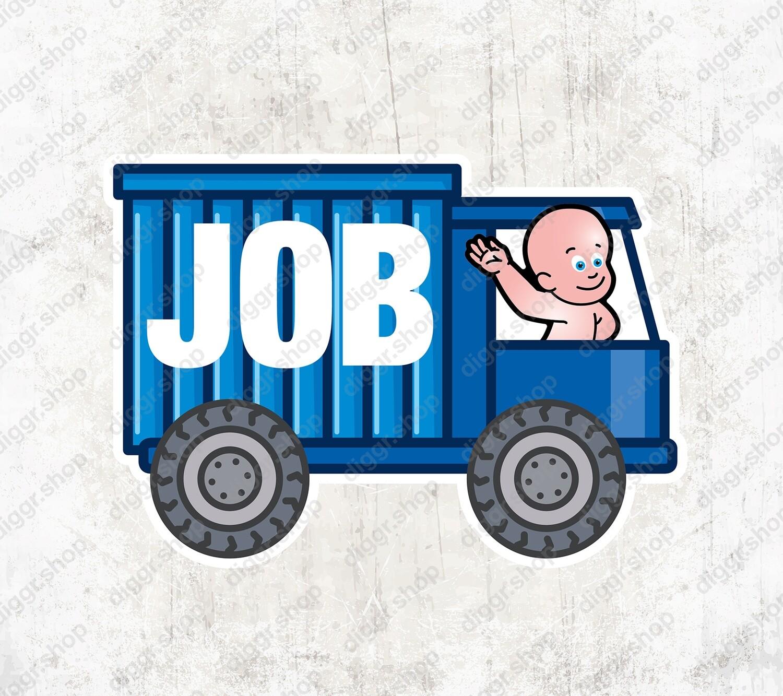 Geboortekaartje Vrachtwagen (2063)