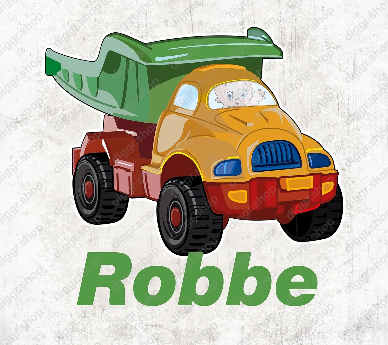 Geboortekaartje Speelgoed vrachtwagen 2 (2055)