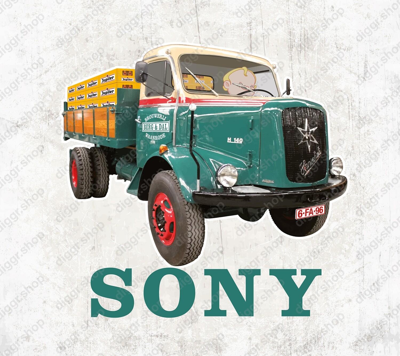 Geboortekaartje Brouwer vrachtwagen (2122)