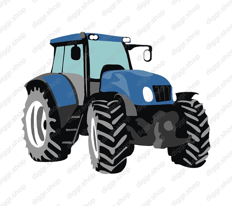 Geboortekaartje Playmobil Tractor 12 (821)