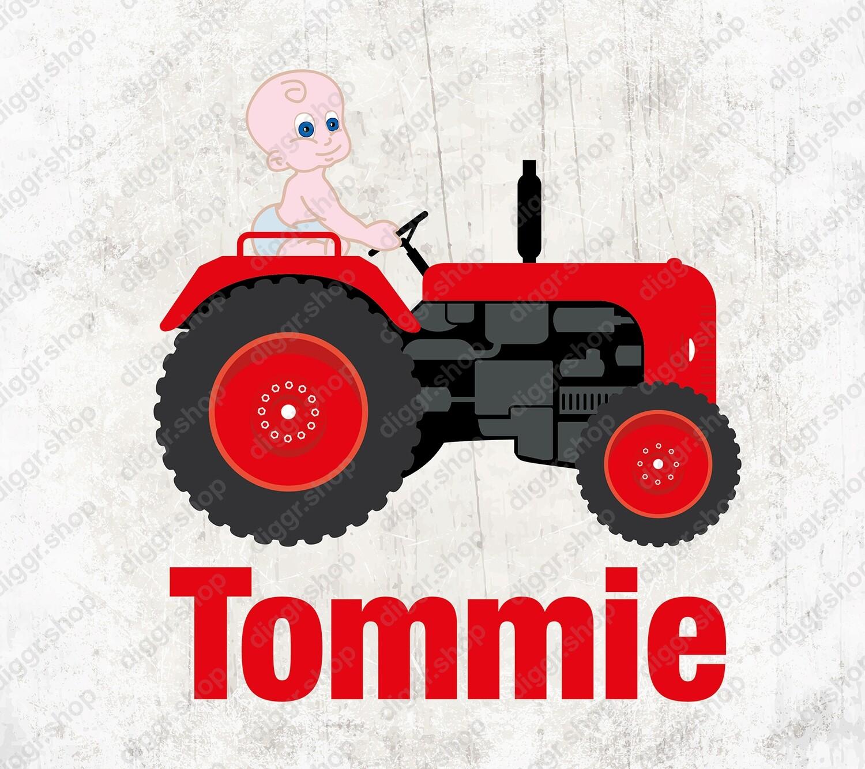 Geboortekaartje Tractor (2000)