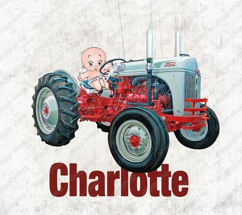 Geboortekaartje Ford tractor (2003)