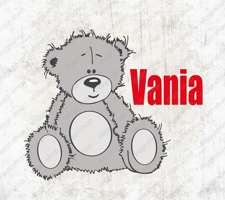 Geboortekaartje Cute Teddy Bear 04 (1977)