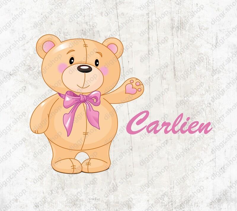 Geboortekaartje Teddybear 20 (1980)