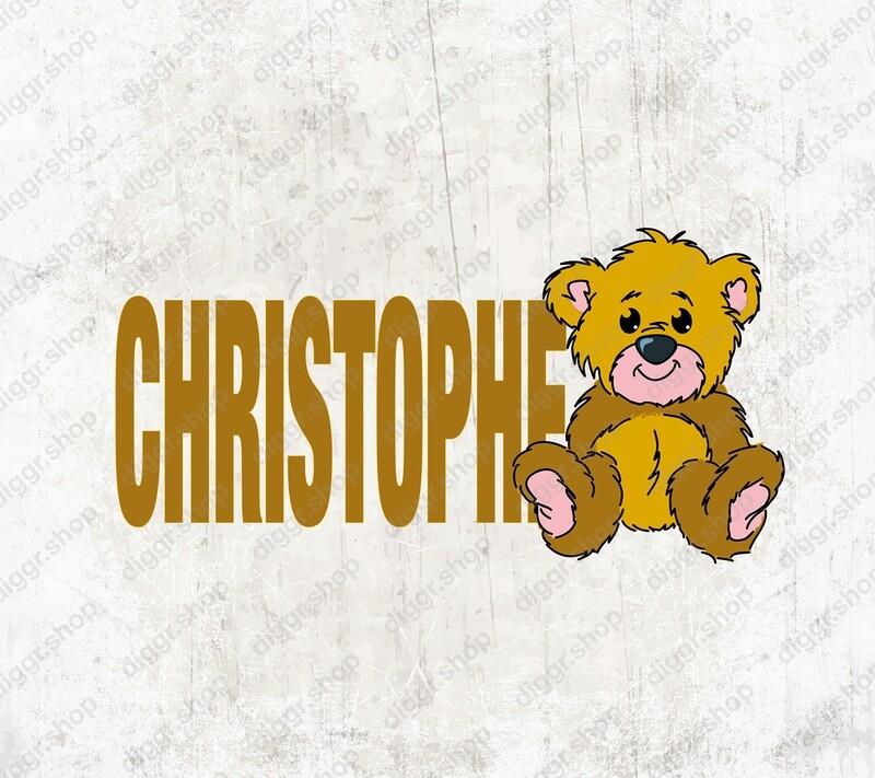 Geboortekaartje Teddybeer (1985)