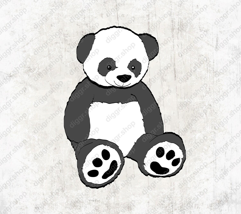 Geboortekaartje Panda (19138)