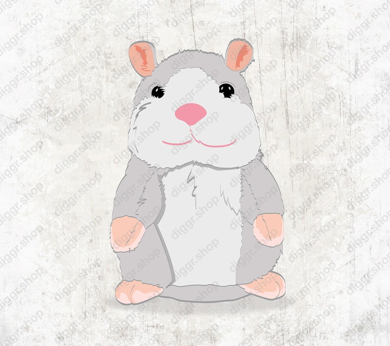 Geboortekaartje Hamster (19132)
