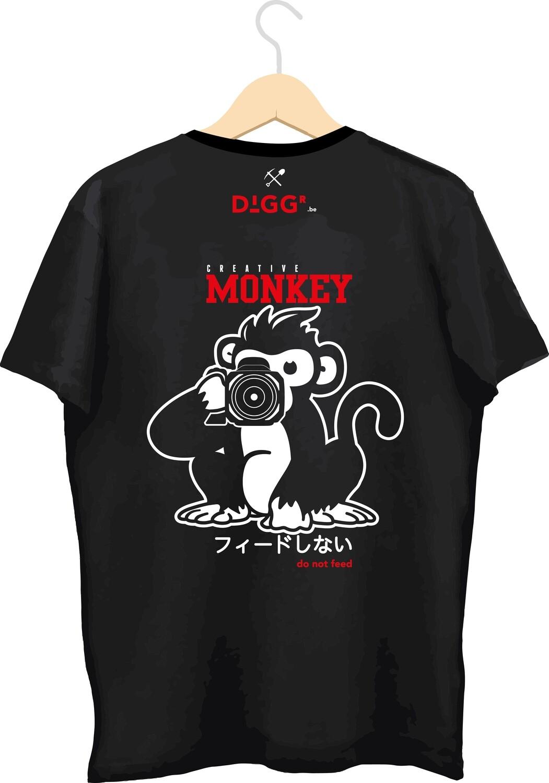 T-shirt met bedrukking (Diggr Video)