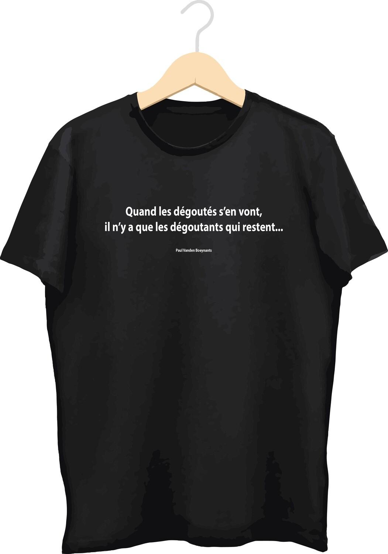 T-shirt met bedrukking (Dégoutés)
