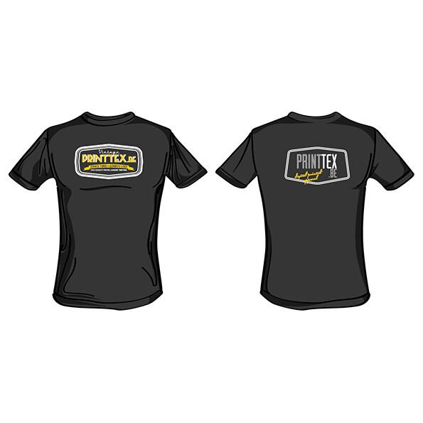 T-shirts (5 stuks). Bedrukking met uw bestand, op het hart. (Unisex model)