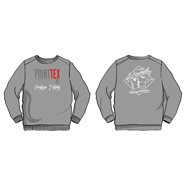Sweaters (5 stuks) met uw bedrukking. Unisex model.