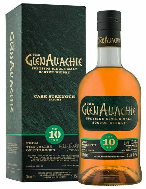 GlenAllachie 10 Years Cask Strenght Batch 4