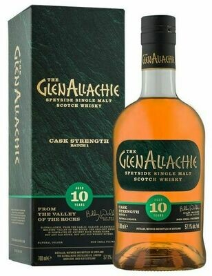 GlenAllachie 10 Years Cask Strenght Batch 3