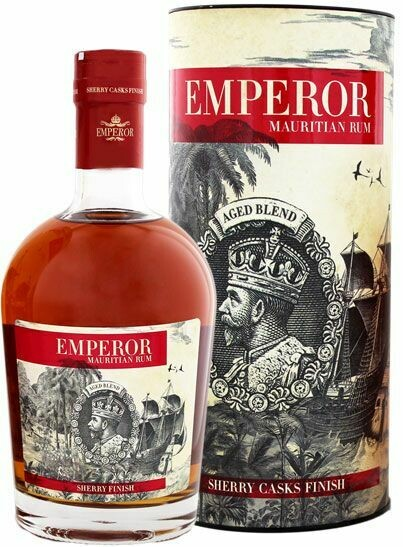 Emperor Rum Sherry Casks Finish 40% 70CL