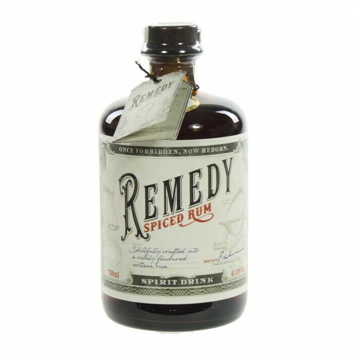 Remedy Rum 41.5% 70CL