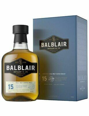 Balblair 15 years 46% 70CL