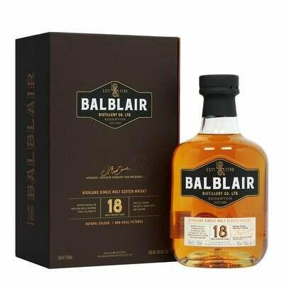 Balblair 18 years 46% 70CL