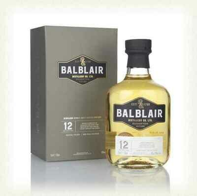Balblair 12 years 46% 70CL