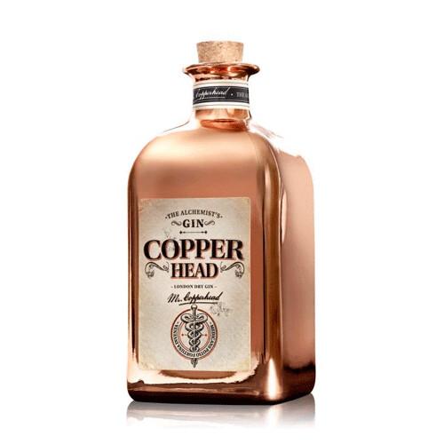 Copperhead Gin 40% 50CL