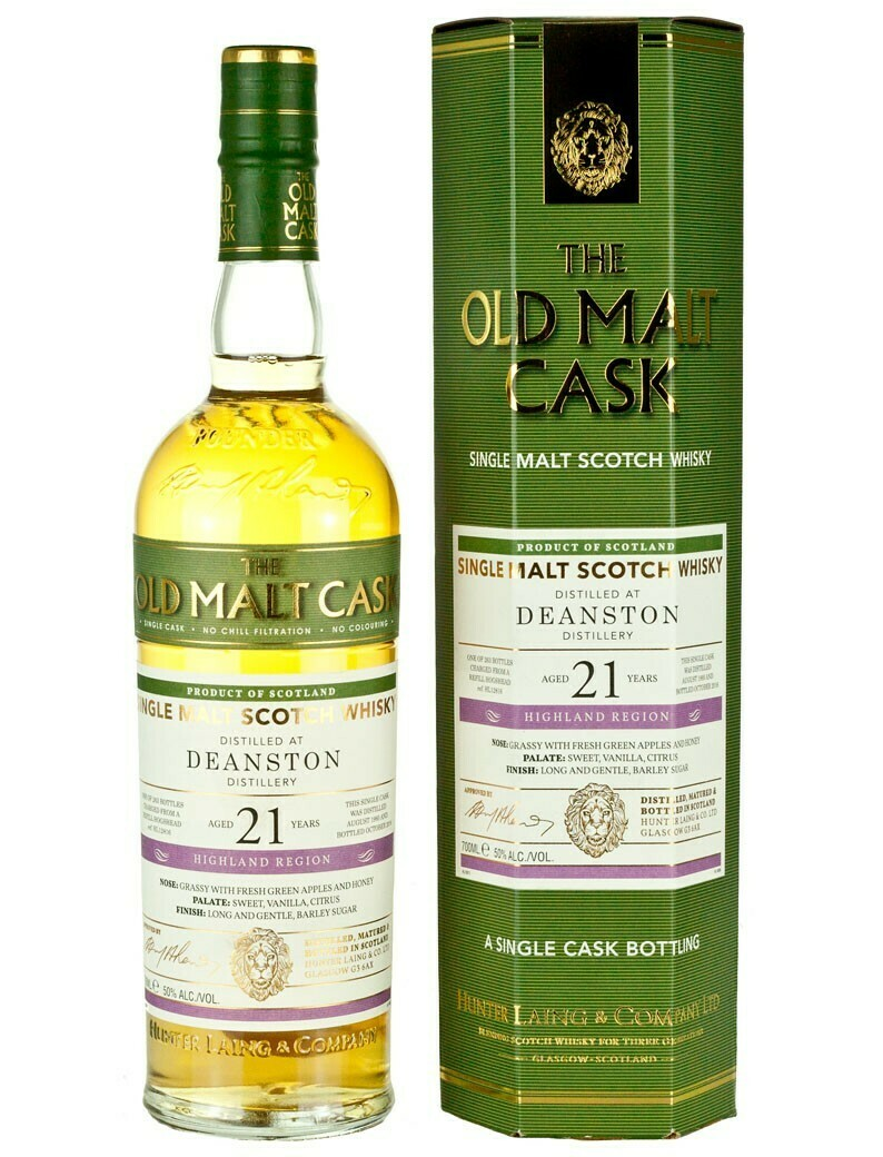 Deanston 21 years 50% 70CL