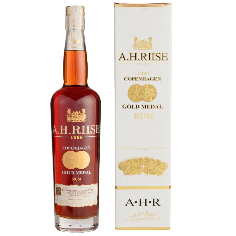 A.H. Riise 1888 Gold Rum 40% 70 CL
